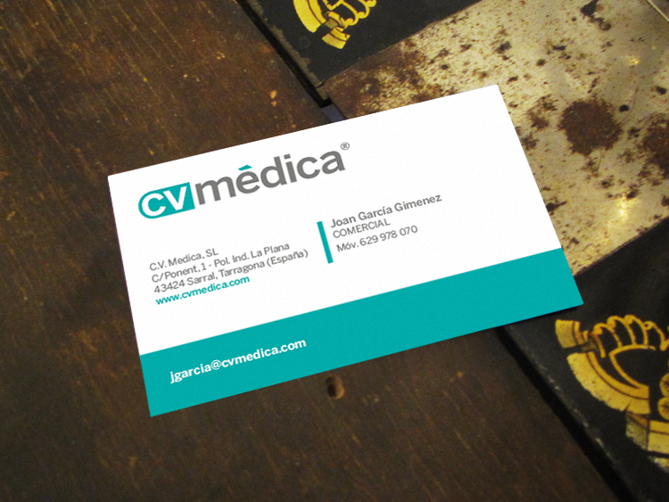 CV MEDICA logotipo